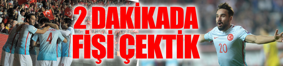 Türkiye 2 - Kosova 0 / Maç özeti