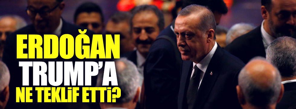 Erdoğan, Trump'a ne teklif etti?