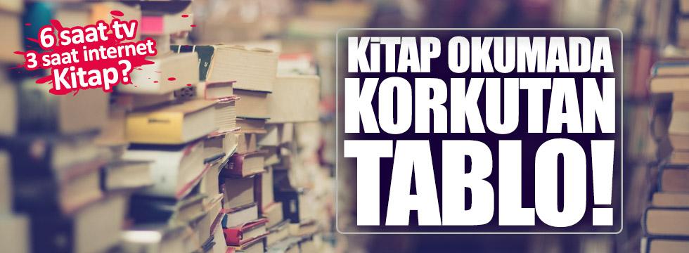 Türkiye'de korkutan kitap okuma rakamları