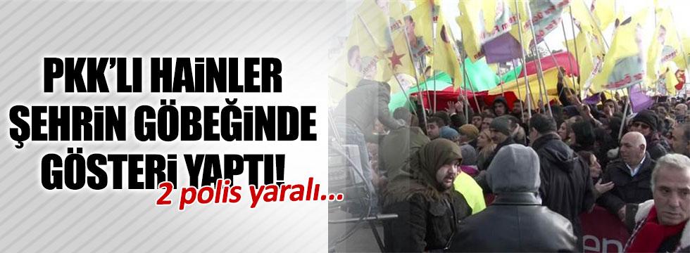 PKK'lılar Almanya'yı karıştırdı