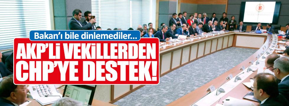 CHP'nin önerisini el kaldıran AKP'lilere, Bozdağ'dan uyarı