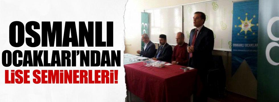 Osmanlı Ocaklarından lise seminerleri