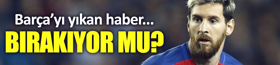 Lionel Messi ayrılıyorm mu?