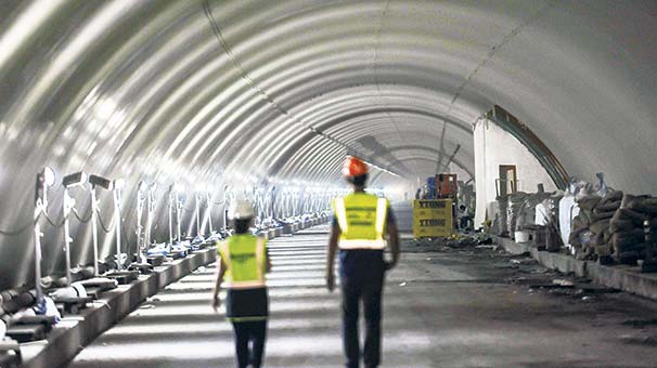 Avrasya Tüp Tüneli 20 Aralık'ta hizmete açılıyor