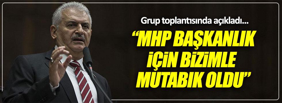 """Başbakan Yıldırım: """"Başkanlık konusunda MHP ile mutabıkız"""""""