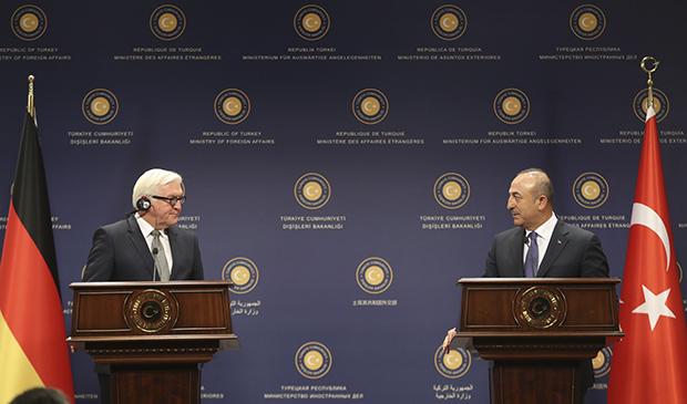 Almanya Dışişleri Bakanı Çavuşoğlu ile görüştü