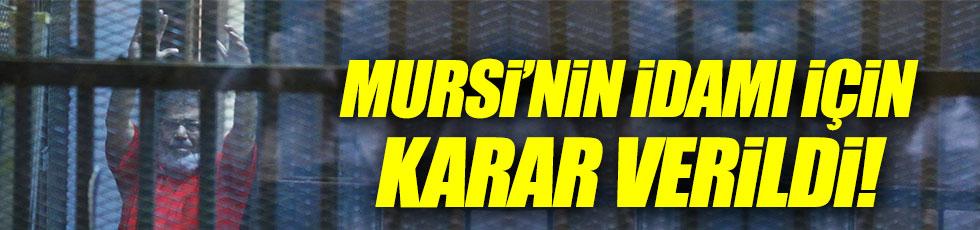 Mursi'nin idamıyla ilgili tarihi karar