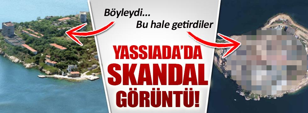 Yassıada'dan skandal görüntü!
