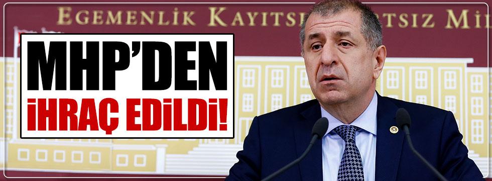 Gaziantep Milletvekili Ümit Özdağ MHP'den ihraç edildi