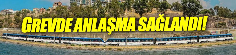 İzmir'deki İZBAN grevinde anlaşma sağlandı