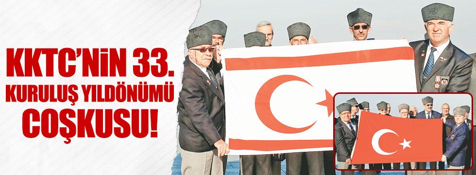 KKTC 33. yılına Türkiye ile güç birliği içinde girdi