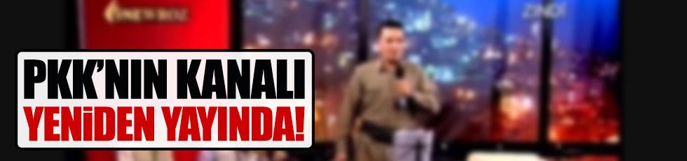 PKK'nın kanalı yeniden yayında