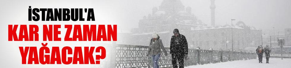 İstanbul'a ilk kar ne zaman yağacak?