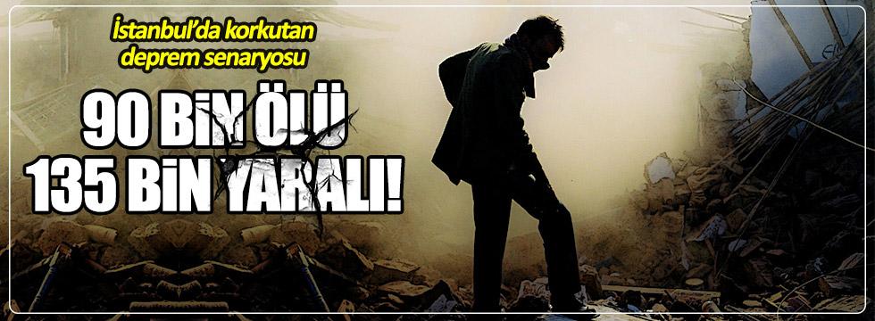 İstanbul'da deprem riski! Ürküten rakam: 90 bin ölü