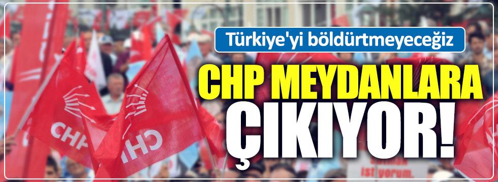 CHP'nin ilk mitingi Adana'da