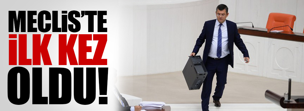 Meclis'ten Kılıçdaroğlu'na hakaret