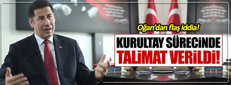 """Sinan Oğan'dan flaş iddia: """"Kurultay sürecinde mahkemelere talimat verildi"""""""