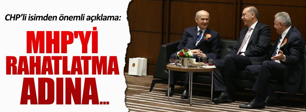 Bülent Tezcan: MHP'yi rahatlatma adına yapılmış