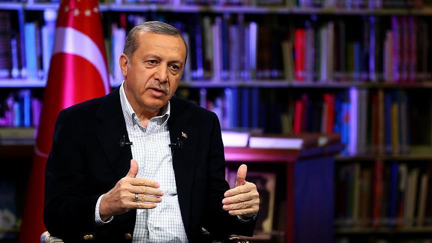 Erdoğan'dan, Gülen açıklaması