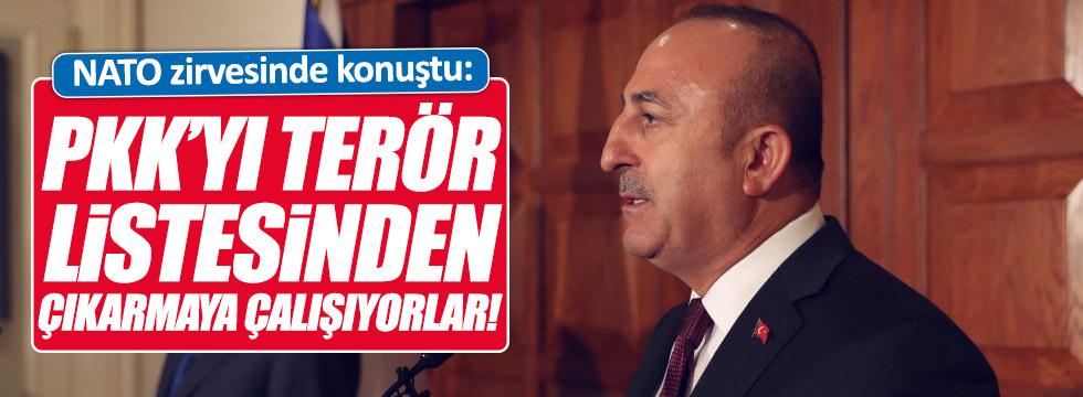 """""""PKK'yı terör listesinden çıkarmaya çalışıyorlar"""""""