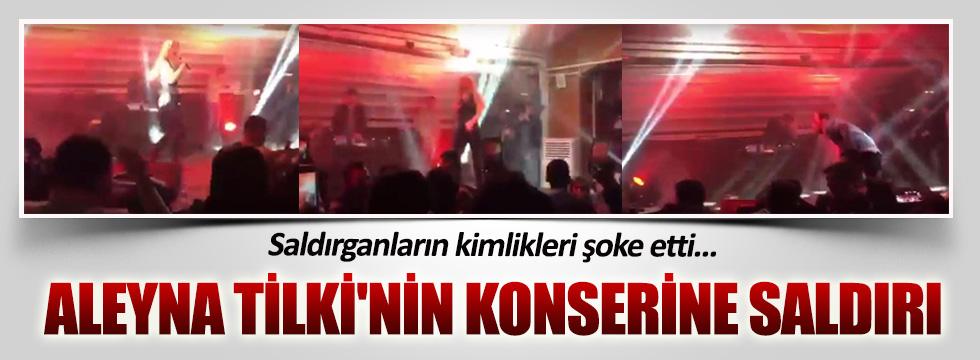 Aleyna Tilki'nin konserine saldırı! Yaralılar var...
