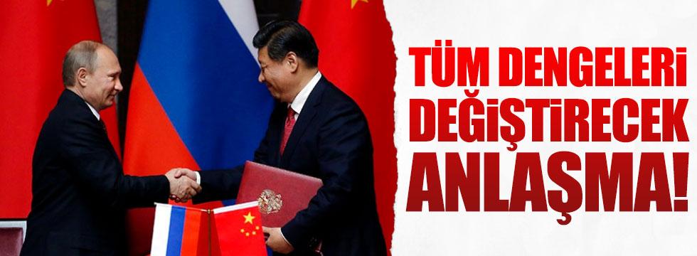 Rusya ve Çin'den dengeleri değiştirecek anlaşma
