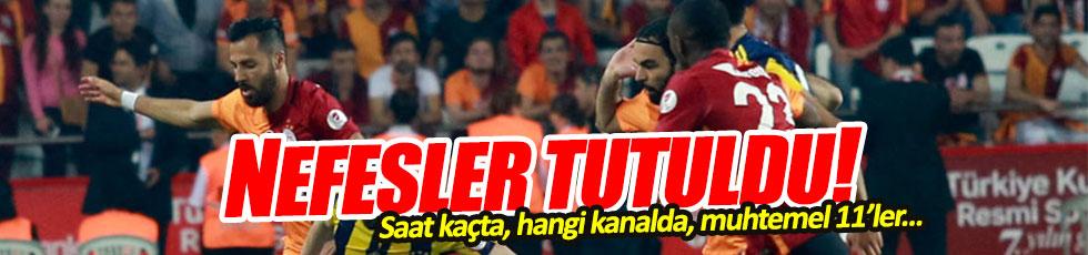 Fenerbahçe – Galatasaray maçı saat kaçta hangi kanalda?