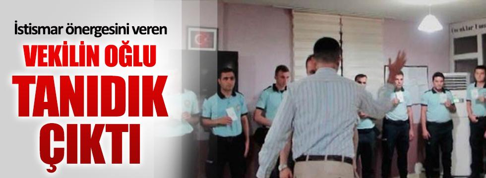 İstismar önergesini veren AKP'li vekilin oğlu tanıdık çıktı!