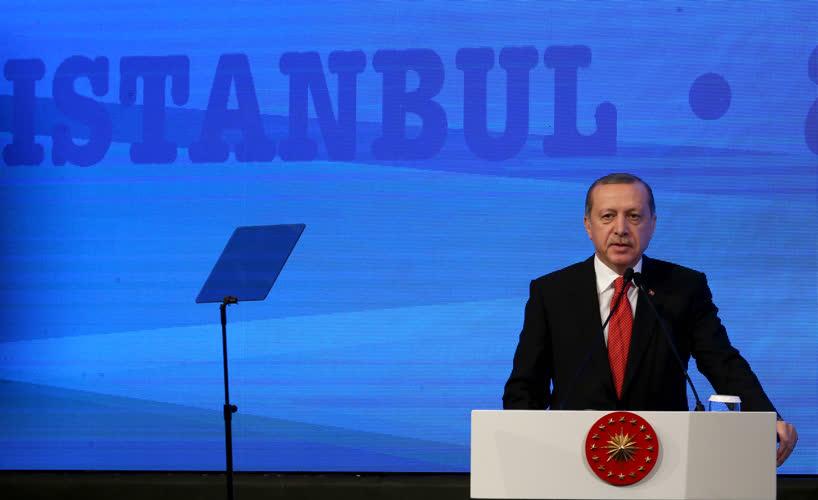 Erdoğan NATO toplantısında konuştu