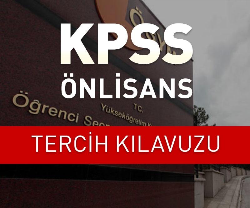 ÖSYM KPSS Önlisans kılavuzu yayınlandı / KPSS tercihleri