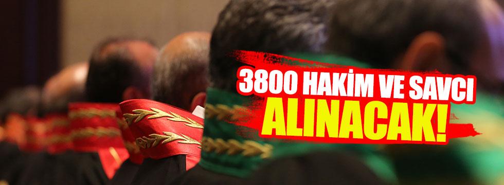 Bakan Bozdağ açıkladı! 3800 hakim ve savcı alınacak