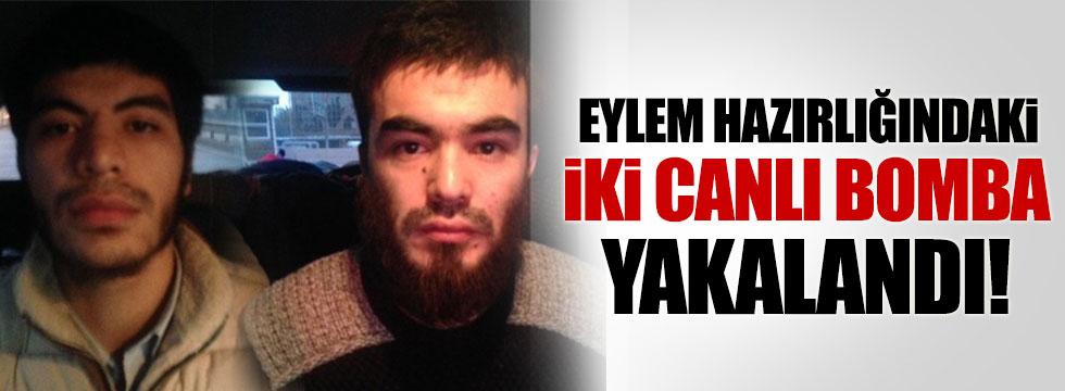 Eylem hazırlığındaki 2 canlı bomba İstanbul'da yakalandı