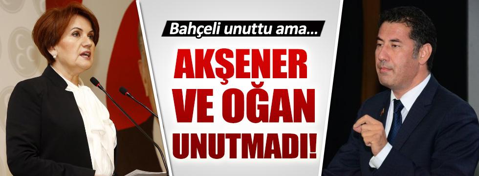 Meral Akşener ve Sinan Oğan Önkuzu'yu unutmadı