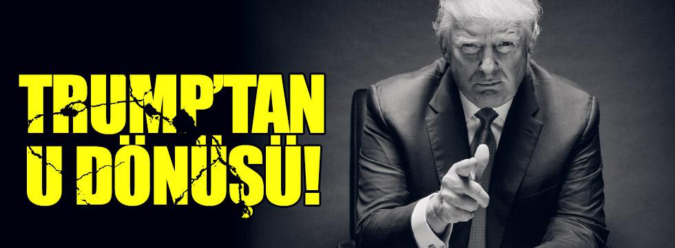 Trump'tan U dönüşü