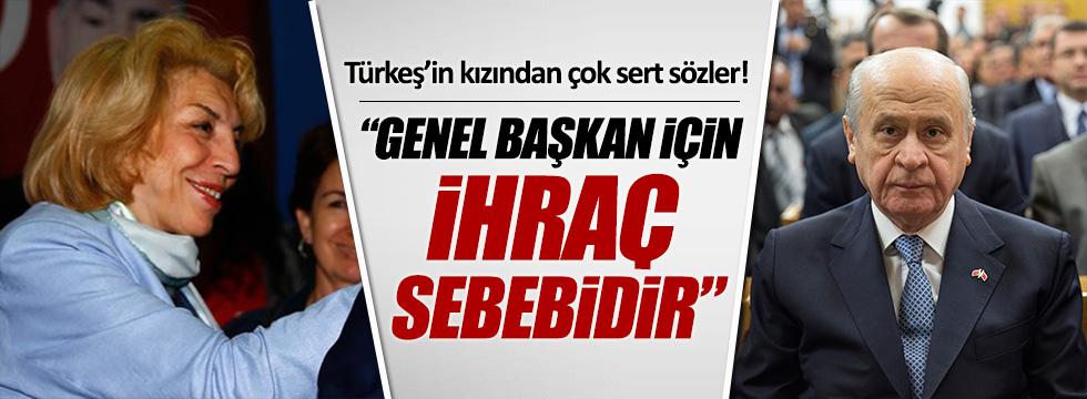Alparslan Türkeş'in kızı Çağrı Türkeş'ten Bahçeli'ye çok sert sözler