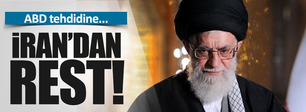 İran ABD'ye rest