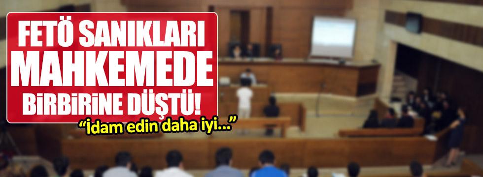 FETÖ'cüler mahkemede birbirine düştü