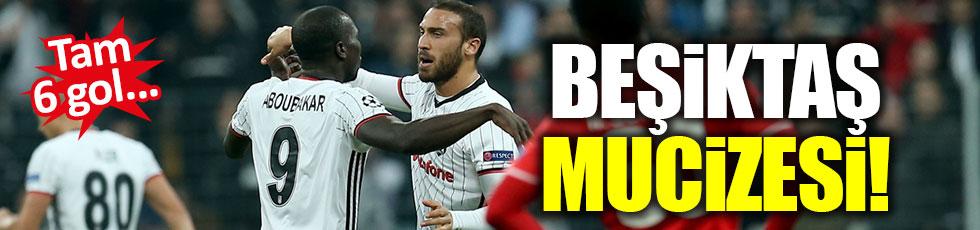 Beşiktaş 3-3 Benfica / Maç Özeti