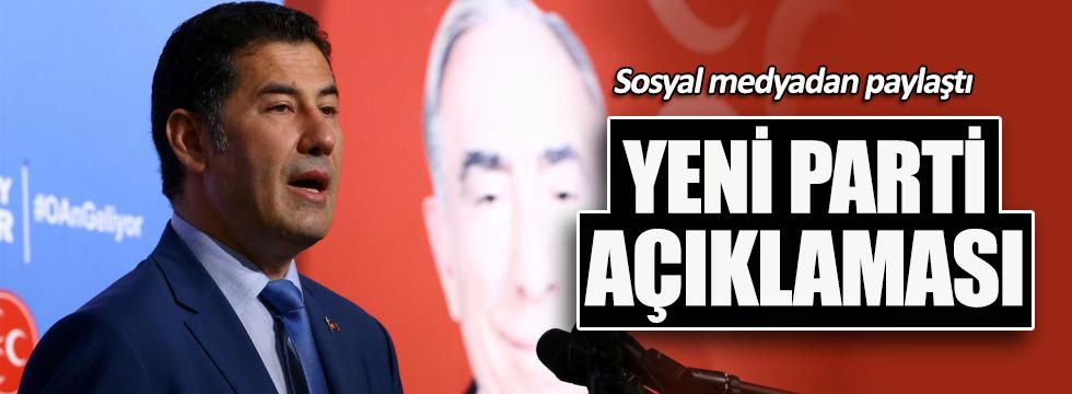 Sinan Oğan'dan yeni parti açıklaması