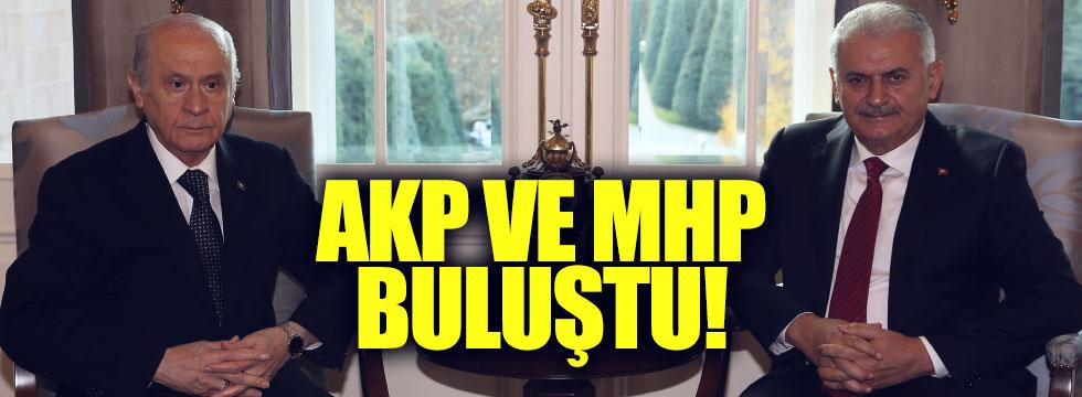 AKP ve MHP ikinci kez görüştü