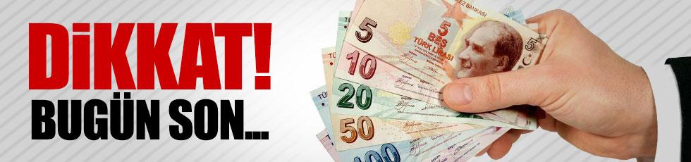 Vergi borcu yapılandırması için son gün