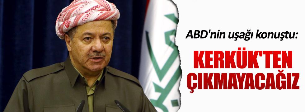 Barzani, Kerkük'ten çekilmiyeceklerini açıkladı