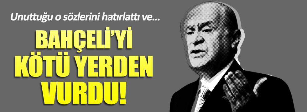 Milliyet yazarı Bahçeli'ye o sözlerini hatırlattı