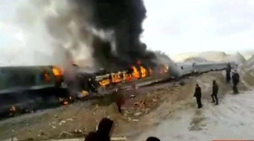 İran'da feci kaza! Çok sayıda ölü var