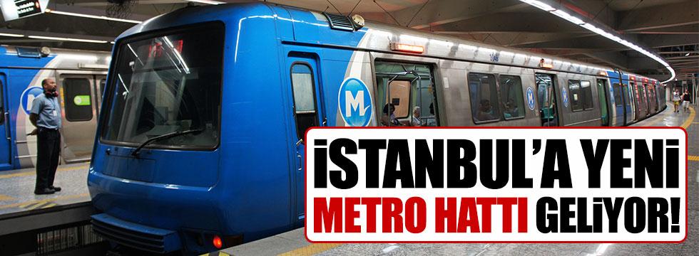 İstanbul'da yeni metro hattı yapılıyor