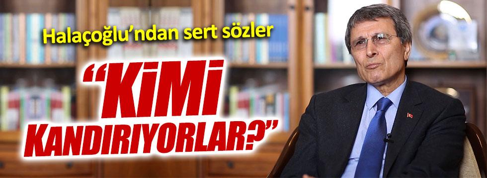 """Yusuf Halaçoğlu: """"Başkanlık sistemiyle kimi kandırıyorlar!"""""""