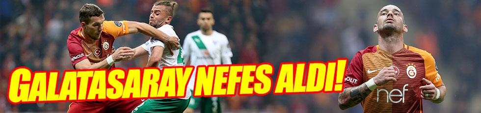 Galatasaray 3-1 Bursaspor / Maç özeti