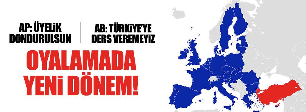 """AB: """"Türkiye'ye ders veremeyiz"""""""