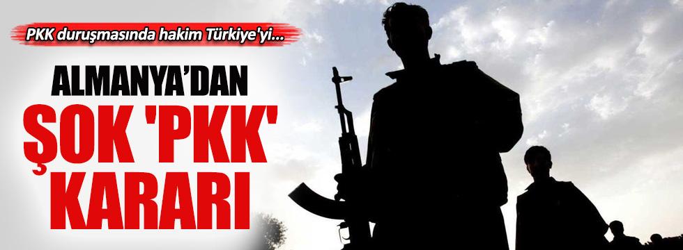 Alman mahkemesinden şok 'PKK' kararı
