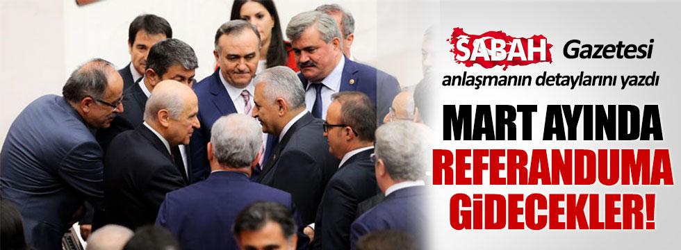 Sabah Gazetesi, Bahçeli ile Yıldırım arasındaki anlaşmanın detaylarını açıkladı